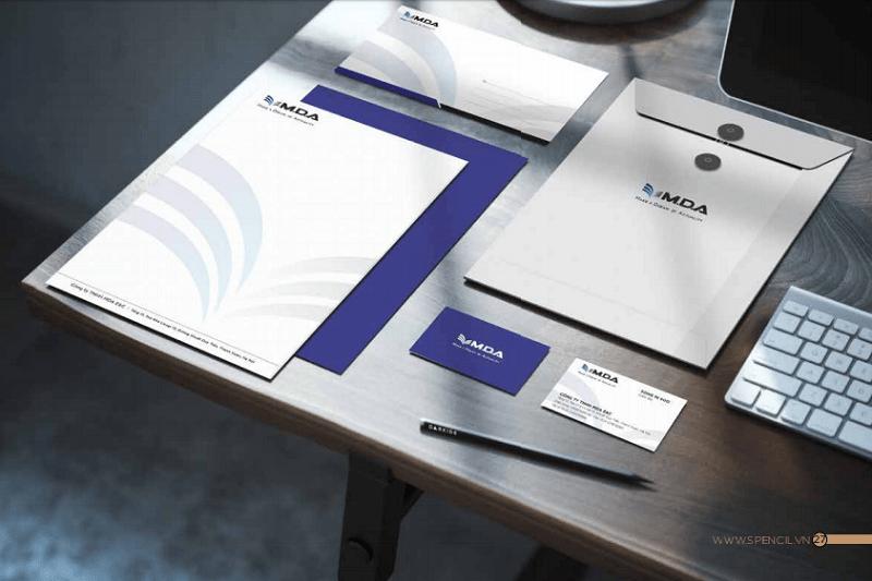 Thiết kế nhận diện thương hiệu MDA E&C
