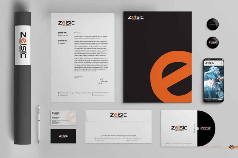 Thiết kế nhận diện thương hiệu ZEISIC