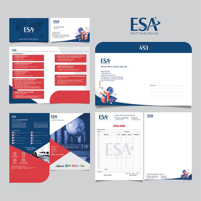 Thiết kế nhận diện thương hiệu ESA