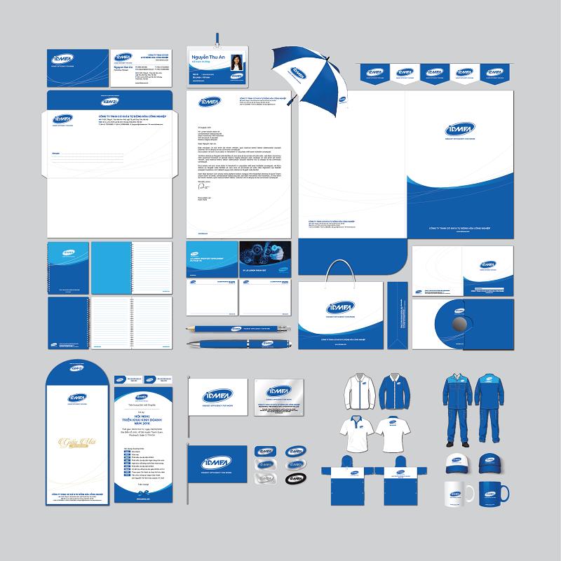 Thiết kế nhận diện thương hiệu IDMEA