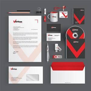 Thương hiệu nhận diện thiết kế VIETTAX