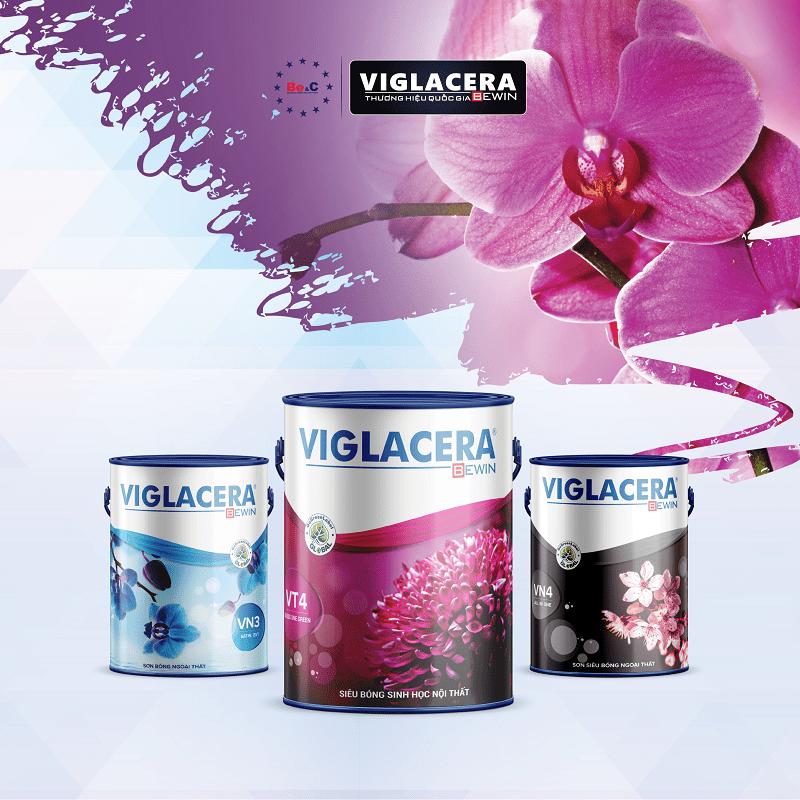 Thiết kế vỏ thùng và nhận diện sơn Viglacera