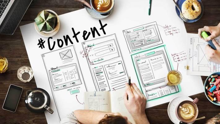 content marketing spencil