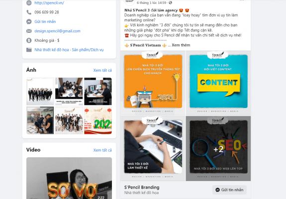 Nội dung bài viết bắt trends của S'pencil Branding